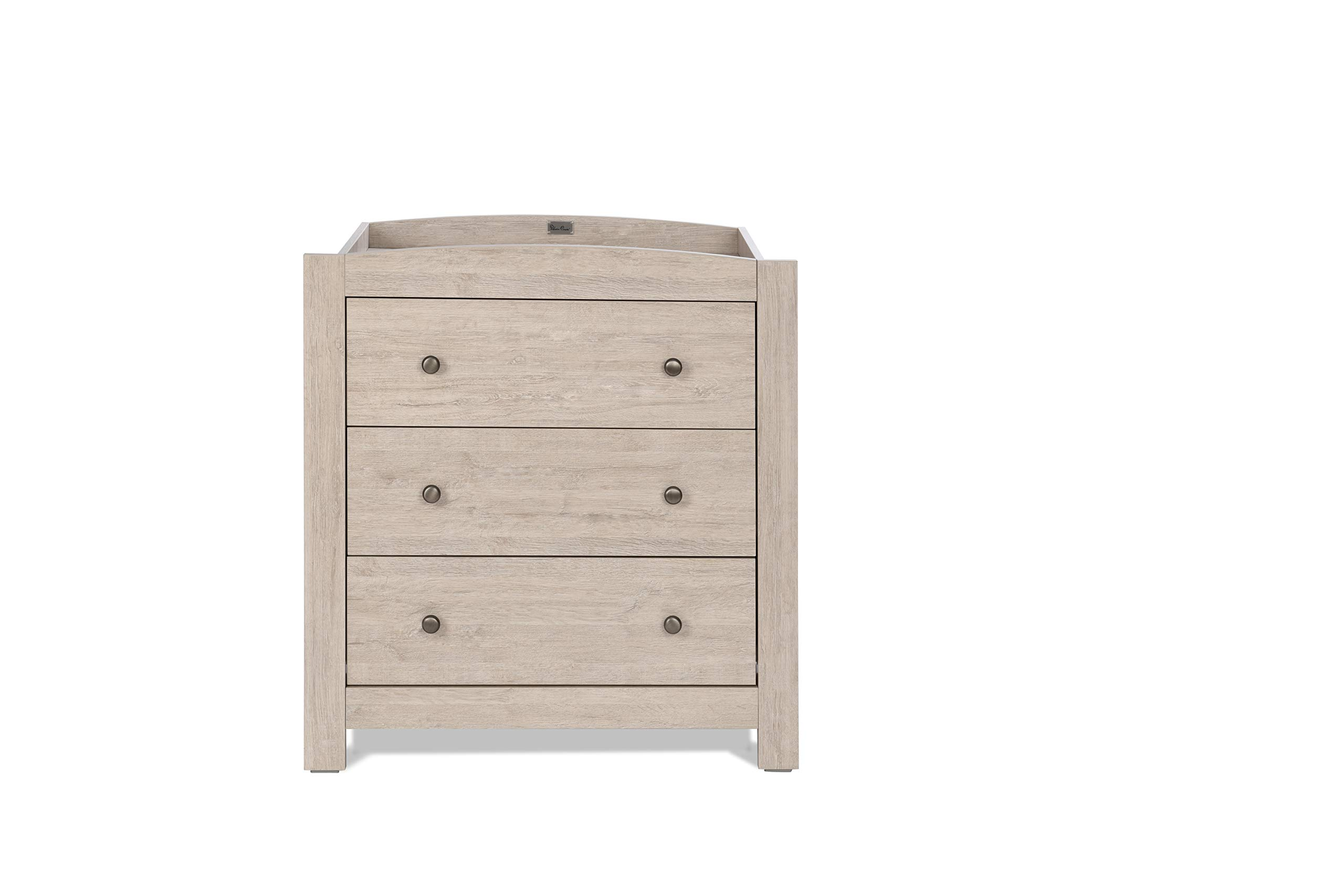 Silver Cross New England Cot Bed and Dresser Silver Cross 3 base height positions Suitable from birth to 4 years Converts into toddler bed 4