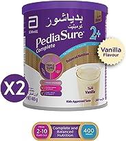 Pediasure 2+ vanilla  400 gm Twin Pack 10 Dhs  off