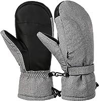 VBIGER Guanti da Sci Guanti Invernali Guanti Antispruzzo per Uomo Donna