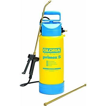 Gloria spruzzatore a pressione primex 5 con prolunga in ottone, giallo
