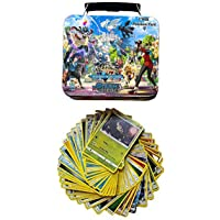 CBOX Poke-mon Playing Tranding Cards Game Steam & Siege with 2 Booster Packs and Cards for All Ages
