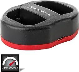 Baxxtar USB Dual Ladegerät Twin Port 1838 - kompatibel für Akku Sony NP-FZ100 zu Sony Alpha ILCE 7 III/Alpha 7R III/Alpha 9