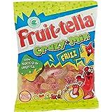 Fruittella Crazy Mix Frizz Caramelle Gommose, Gusto Frutti Assortiti con Succo di Frutta, Senza Glutine, Formato Busta da 175