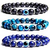 Hot And Bold Natural Gemstones Semi Precious Crystal Beads Combo Layered Bracelets.