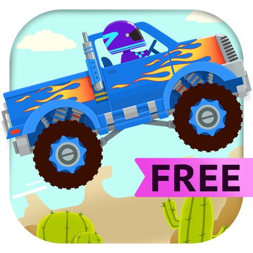 Truck Driver Free - Monster Truck Simulator & Car Driving Games for Kids (Big Dora)