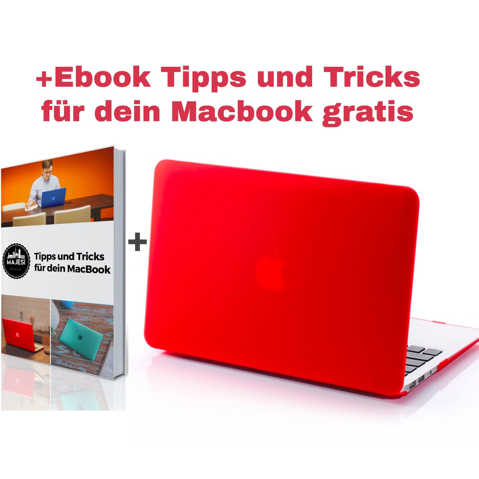 majesi���Original leggero d�nnes 13�MacBook Air Case (33,8�cm) Hard Shell Cover Custodia rigida f