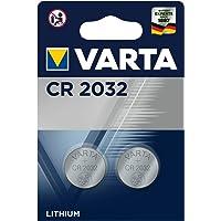 VARTA - CR2032 Lithium pile bouton - 2 pièces