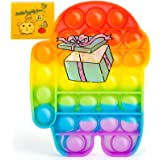 Push Pop Bubble Sensory Zappelen speelgoed, autisme, speciale behoeften, stressvermindering, siliconen, stressvermindering, s