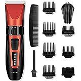 Tondeuse Cheveux Hommes Tondeuse à Cheveux Tondeuse Barbe Professionnelle sans Fil Rechargeable avec 6 Sabots ELEHOT