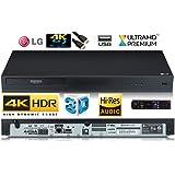 LG UBK80 Noir Lecteur Bluray UHD 4K