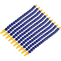 10pcs Tuyau Flexible De Liquide De Refroidissement Réglable En Plastique Flexible d'Huile De l'Eau 1 / 8Bspt Fil Tuyau…