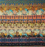 45 Weit indischen Farbenbaumwollgewebe Craft Nähgut Craft
