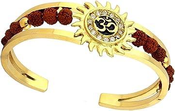 Charms Chain for Men (Golden)(BR-03E Bracelet)
