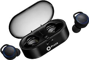 Proze TWS-02 Écouteurs Bluetooth 5.0 Oreillettes sans Fil avec Mic