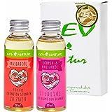 Massageöl Liebesöl Geschenkset Erotiköl, Naturprodukt direkt vom Hersteller, nur Hochwertige naturreine Öle 2 St.x 50ml