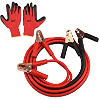 Akozon Car Power Cable Emergency Battery Jumping Cables 1 Pair of 12V Battery Line 4M//2000A