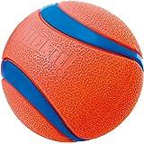 Chuckit Ultraboll, slitstark högstudsande gummi hundboll, startkompatibel, 1 pack, medium