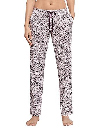 c73c5a3999 Schiesser Damen Schlafanzughose Mix&Relax Jerseyhose Lang: Amazon.de:  Bekleidung