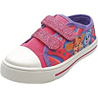 Paw Patrol Girls Canvas Pumps Plimsolls Trainers Slip On Summer Shoes Size Child 5 to 10