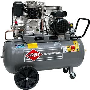 Airpress Druckluft Kompressor Hl 425 90 2 2 Kw Max 10 Bar 90 Liter Kessel Stromanschluss 230 V Baumarkt