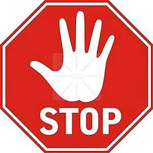 4cm 6stück Aufkleber Folie Modellbau Miniatur Stop Zeichen Kein Durchgang S290 Maßstaab Vinyl Sticker Profi Qualität Auto
