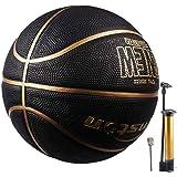 Senston Basketball Size 7 with Pump,Basket Ball Game Training Basketball Indoor/Outdoor Street Basketball