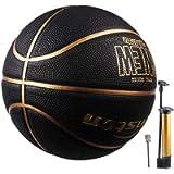 Senston Basketball Size 7 with Pump, Children Kids Youth Basket Ball Game Indoor/Outdoor Street Basketball