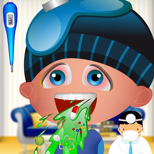 Notarzt - Kinderrettung (Arzt, Zimmer)