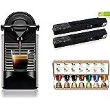 Krups Nespresso Pixie titane + 34 capsules Nespresso offertes, Machine à café 0,7 L, Café filtre Espresso, Cafetière, Capsule