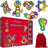 Limmys Bloques de construcción magnéticos Juguetes de construcción únicos para niños y niñas - El Juguete Educativo Stem Incl