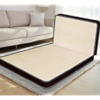 Comforto Folding 4-Inch Double Size Foam Mattress (72 x 48 x 4 Inches, Beige)