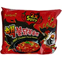 Samyang Hot Chicken Ramen 2X Spicy Noodles, 140 g