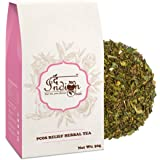 The Indian Chai – PCOS Relief Herbal Tea 50g, Helps Cure Acne, Facial Hair Growth, Scalp Hair Loss Related to Hormonal…