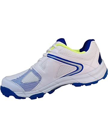 NEW HS SPORTS KING COMFORTABLE GRIPPER CRICKET SHOES RUBBER SPIKES