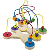 Melissa & Doug Classic Bead Maze - Wooden Educational Toy (Frustration-Free Packaging)