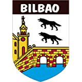 Artimagen - adesivo stemma Bilbao, 40 x 60 mm