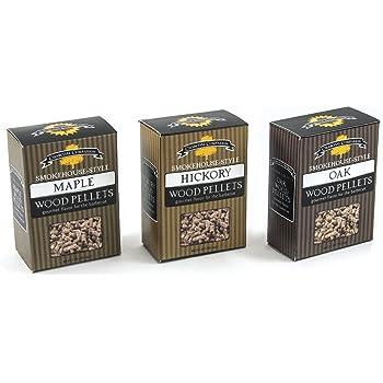 Charcoal Companion CC6047 Hickory Smoke House Style Wood Pellets