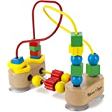 Melissa & Doug First Bead Maze   Developmental Toy   Motor Skills   3+   Gift for Boy or Girl