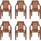Nilkamal Patio Chair (Mango Wood, Set of 6)
