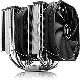 DEEP COOL Assassin III, Disipador de CPU, 7 Tubos del Calor, Doble Torre, Doble CPU Ventiladores de 140 mm, 54 mm de RAM, TDP