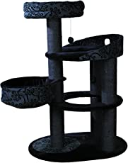 Trixie 43467 Kratzbaum Filippo, 114 cm, schwarz/anthrazit