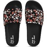 Skora Fashion Sliders-524,Grey Sole, Sliders, Sliders for women, Women Sliders, Sliders Women, Sliders for Girls, Flip Flop S