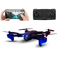 CHAWLA TOYS AND DRONE Foldable Drone with Dual Camera HD 4K Wide Angle Lens Optical Flow Positioning with 1200Mah…