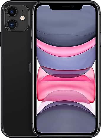 Apple iPhone 11 (64Go) - Noir (Comprend EarPods, Câble Lightning vers USB, Adaptateur Secteur USB)