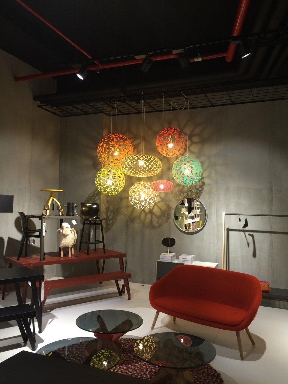 KOURA - moderne LED Designer Leuchte, exklusive Designleuchte aus Bambus,  Designerleuchte, Lampe Wohnzimmer, Gastronomie, Hotel