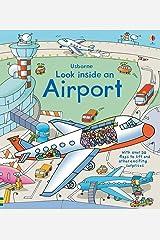 Look Inside an Airport (Usborne Look Inside) (Look Inside Board Books) Hardcover
