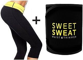 VINGABOY Sweet Sweat Slimming Belt/Tummy Trimmer Hot Body Shaper Slim Belt/Hot Waist Shaper Belt Instant Slim Look Belt for Women