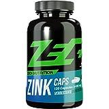 ZEC+ ZINK Caps   Stärkung des Immunsystems   HALAL   Zink in optimaler Bioverfügbarkeit   Aromatasehemmer, wichtiges Mineral im Kraftsport/Bodybuilding   beugt Zink-Mangel vor   120 Kapseln