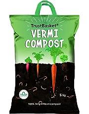 TrustBasket Organic Vermicompost Fertilizer Manure for Plants