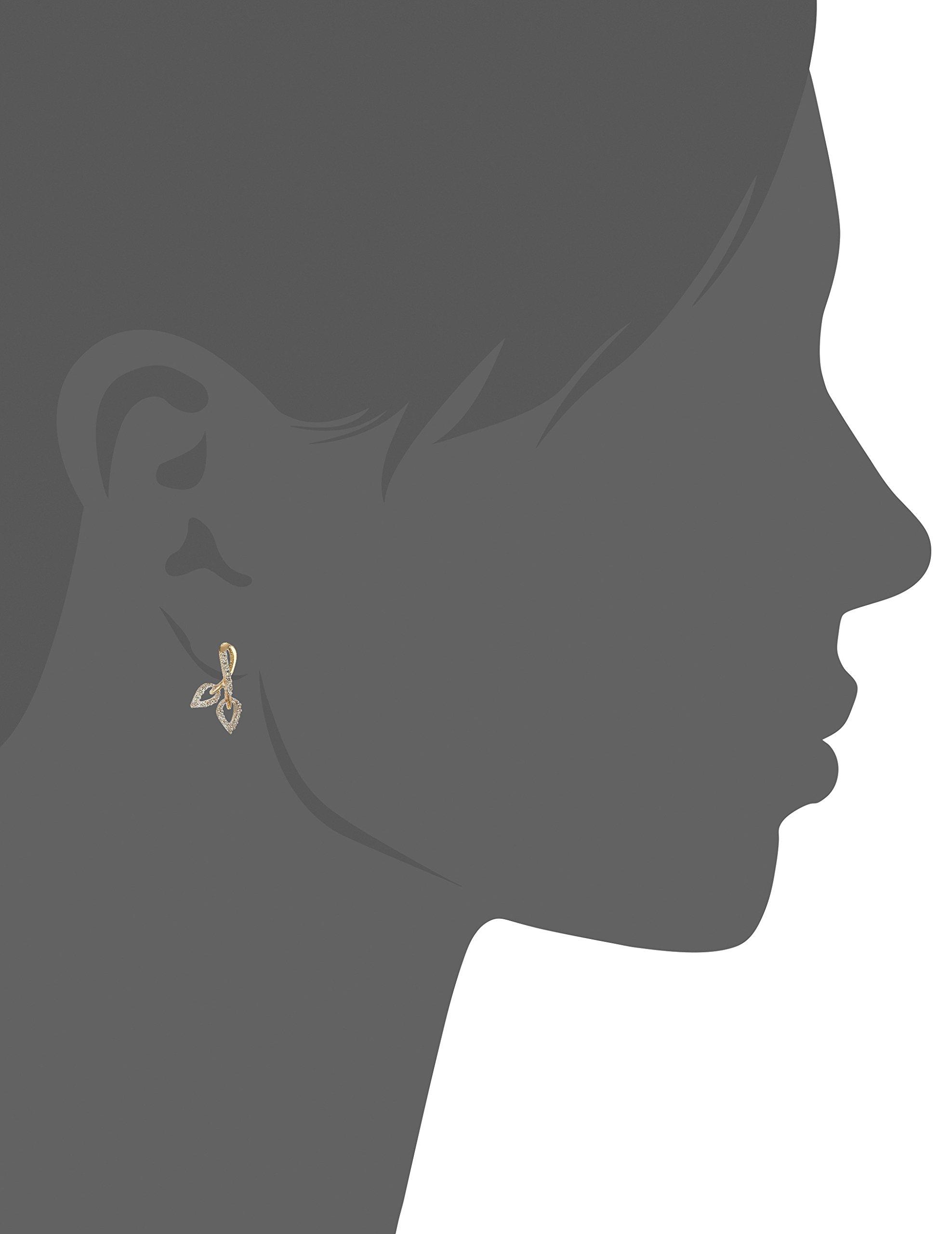 Senco Gold 14KT Yellow Gold and Diamond Stud Earrings for Women (DT-D000123774)